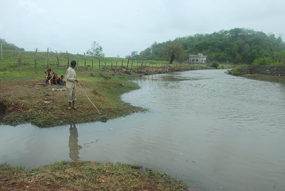 A stream in Kashid.