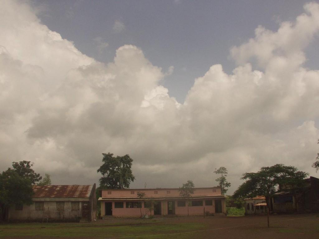 A village tribal school.