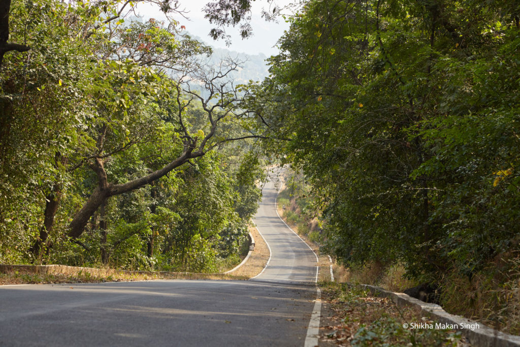 Drive through Khodala...