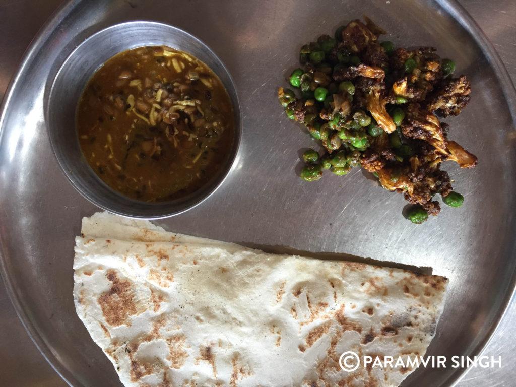 Vegetarian Thali Maharashtra