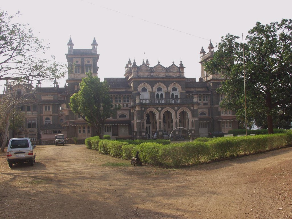 The palace of the erstwhile Nawab of Janjira