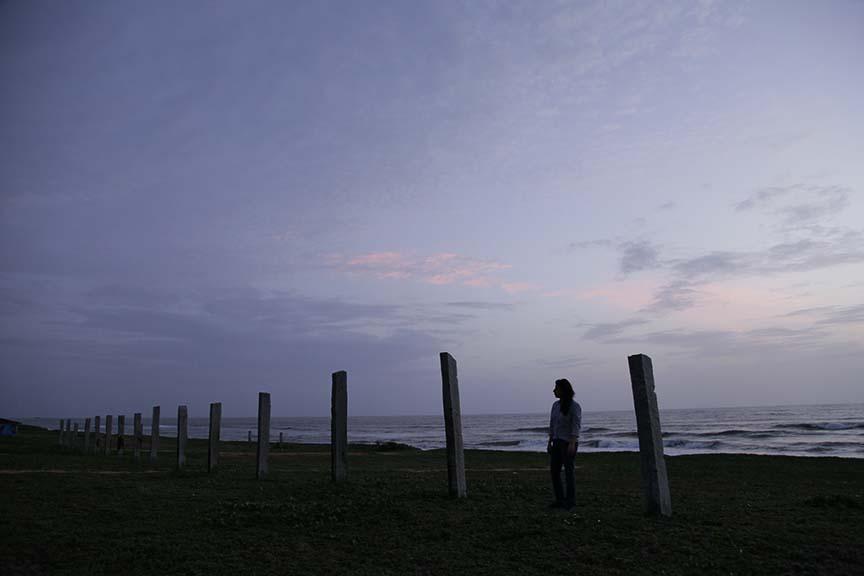 The beach at Ankola.