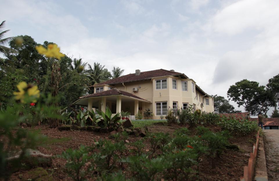 The bungalow at Tata Plantations