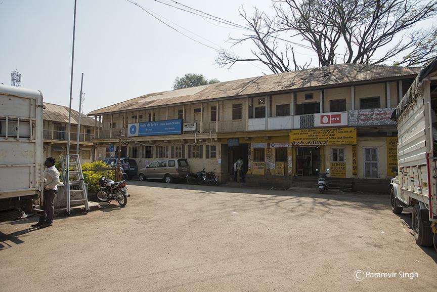 Old court buildings around Bhor Rajwada