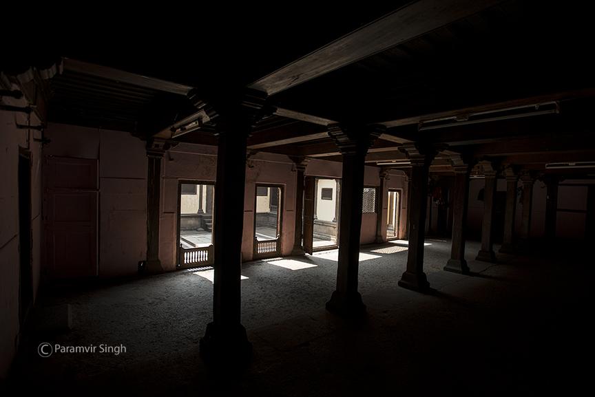 Inside Bhor Rajwada