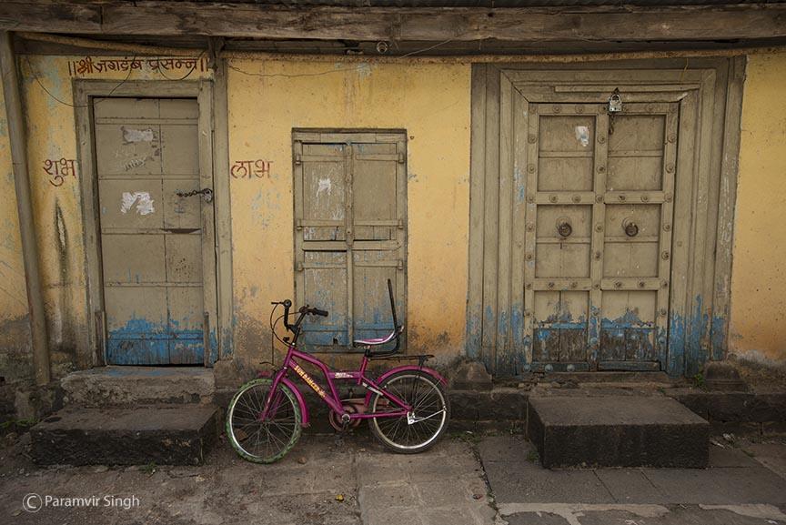 Doors from the era of Bhor Rajwada