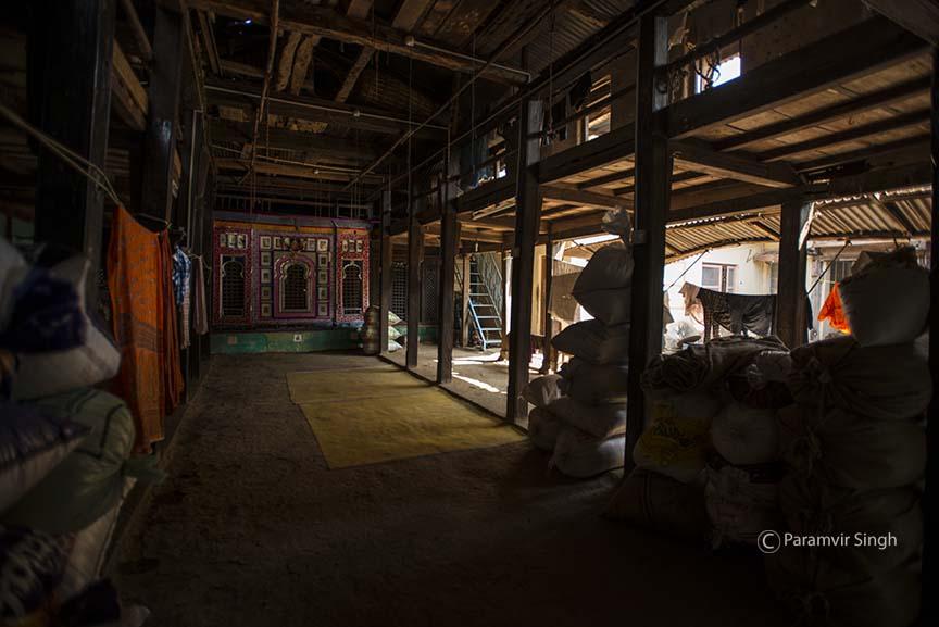 Inside a house near Bhor Rajwada