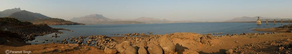 Morbe Dam near Prabalmachi