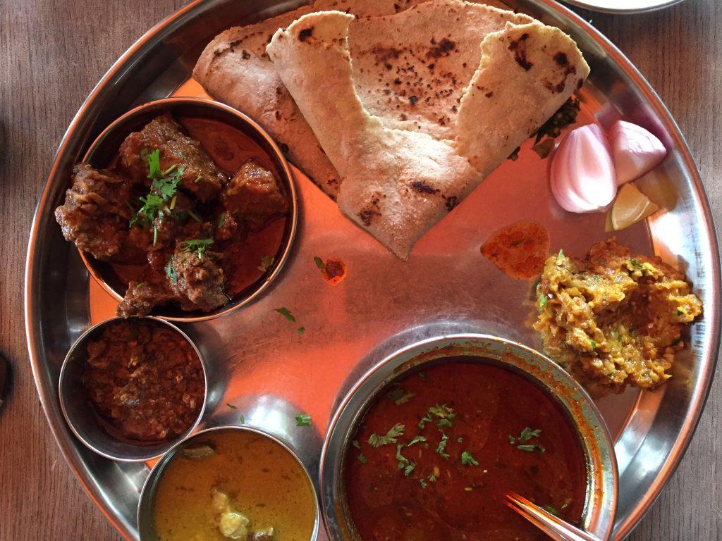 Chul Mutton's Mutton Thali