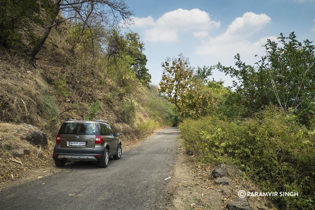 Way to Jambhulpada