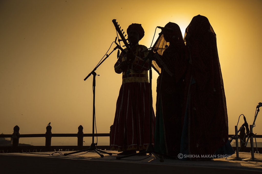 Bhopa-Bhopi, as these musicians are called represent a traditional genre of Rajasthani folk.