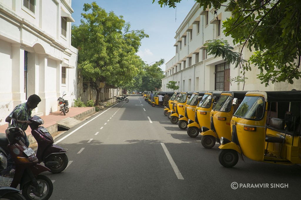 Pondicherry street.