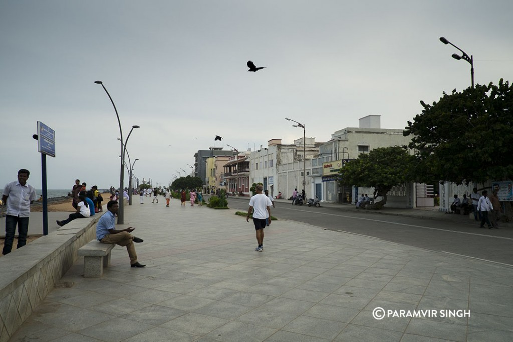 Beach Road, Pondicherry.