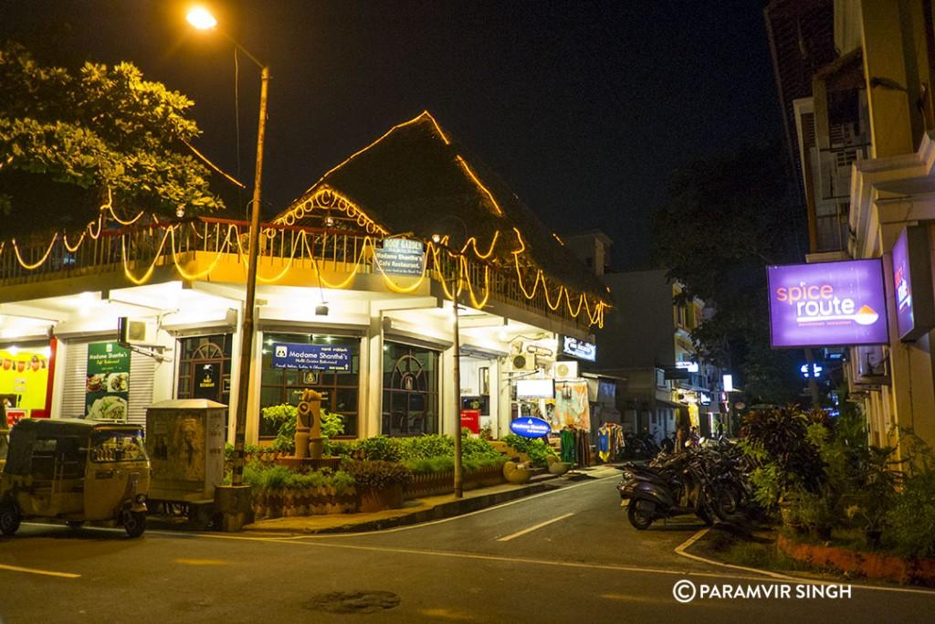 Pondicherry Night Life.