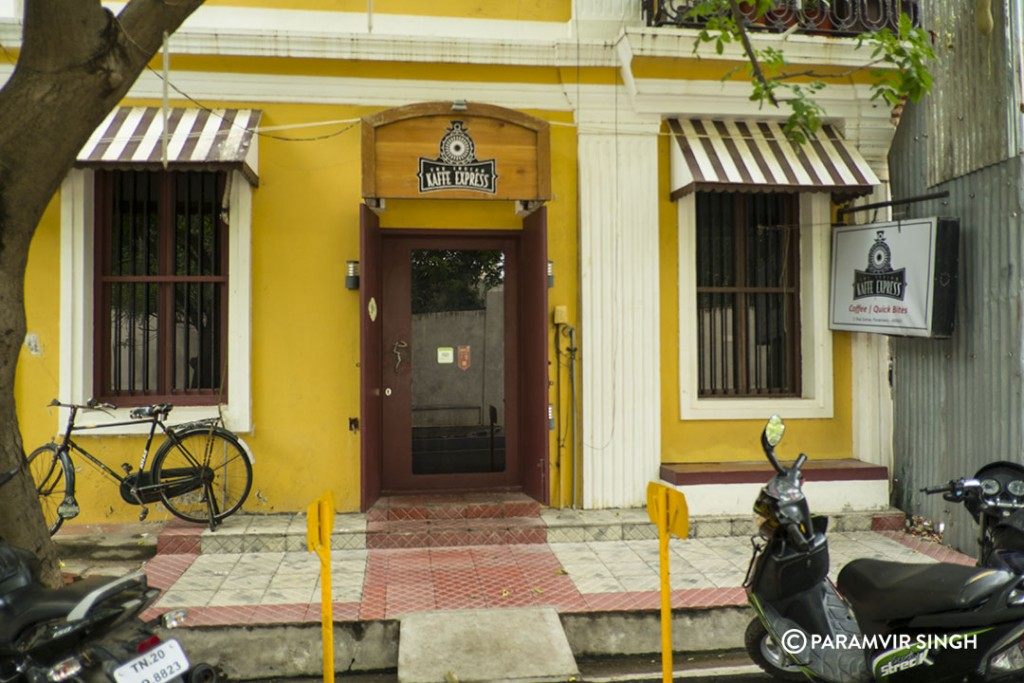 Kaffe Express, Pondicherry.