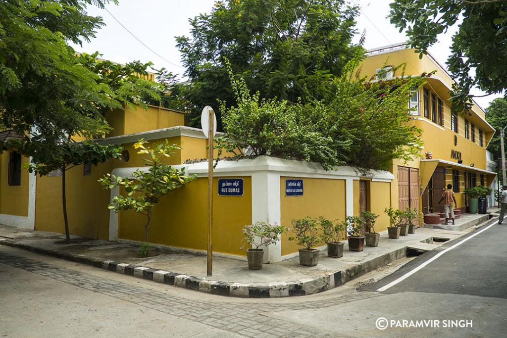 Rue Damas, Pondicherry