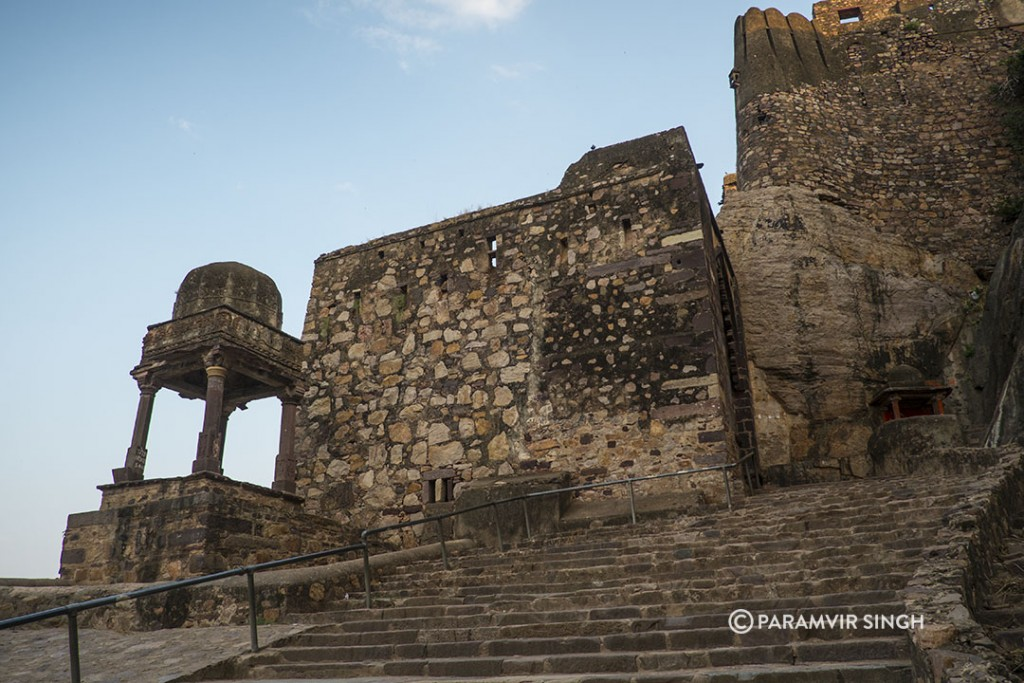 Ranthambhore Fort Steps and Chatri