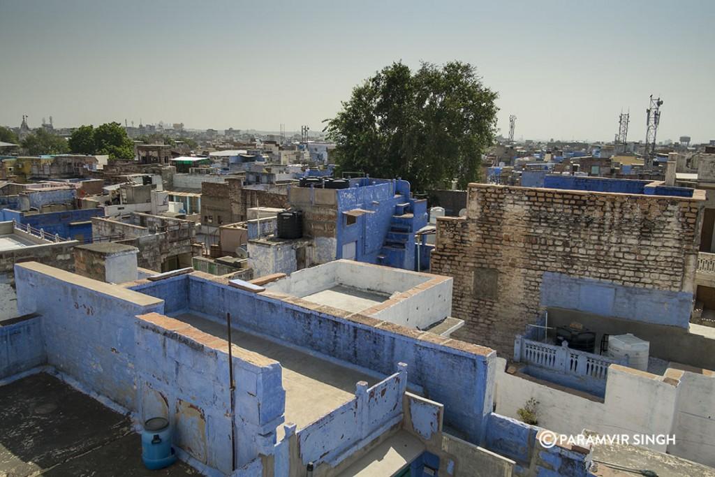 The Blue City of Jodhpur.