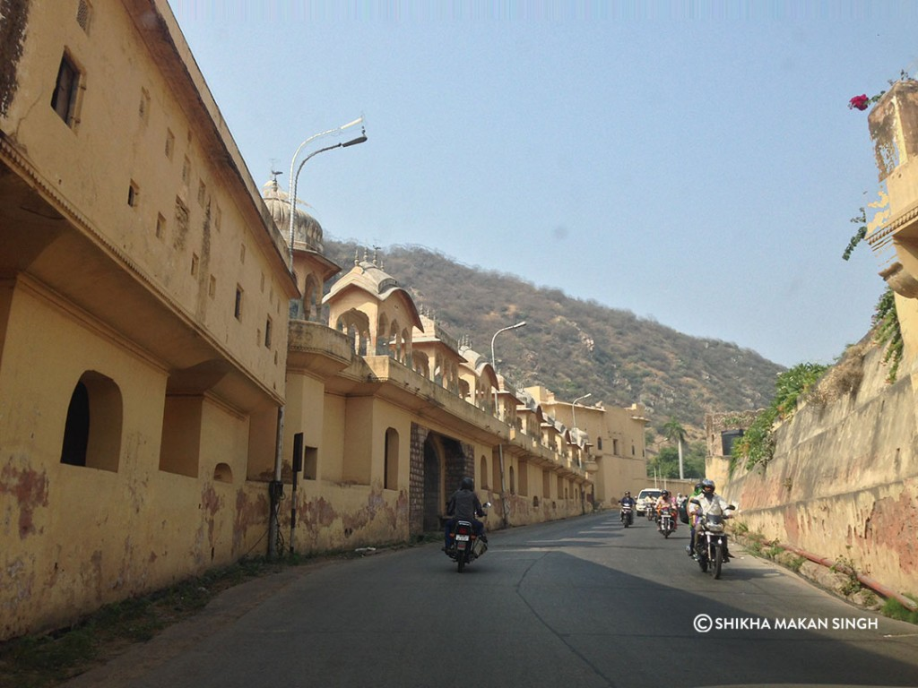 The Sisodia Rani Bagh on the outskirts of jaipur.