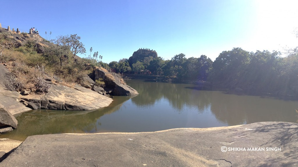 Trevor's Tank at Mount Abu.