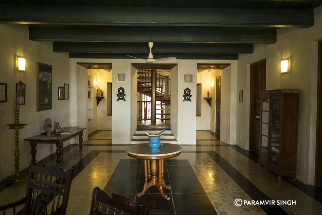 Neemrana Hotels in Tranquibar : Lobby of Bungalow On The Beach