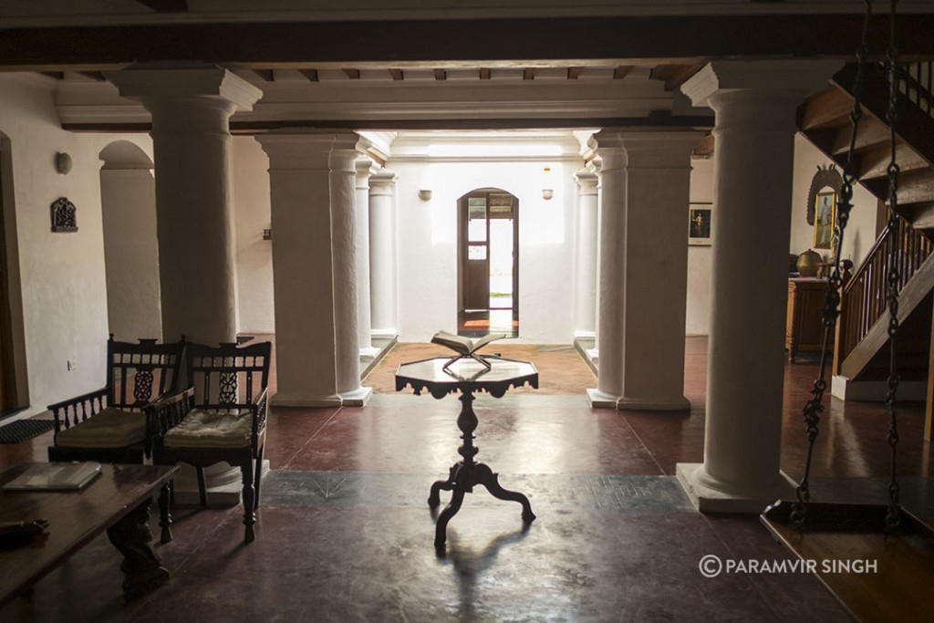 Neemrana Hotels in Tranquibar : Lobby at The Gatehouse