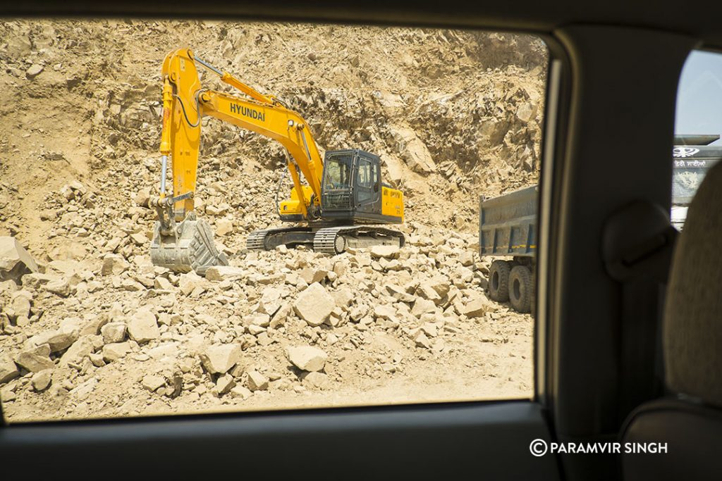 Manali Highway Road Construction