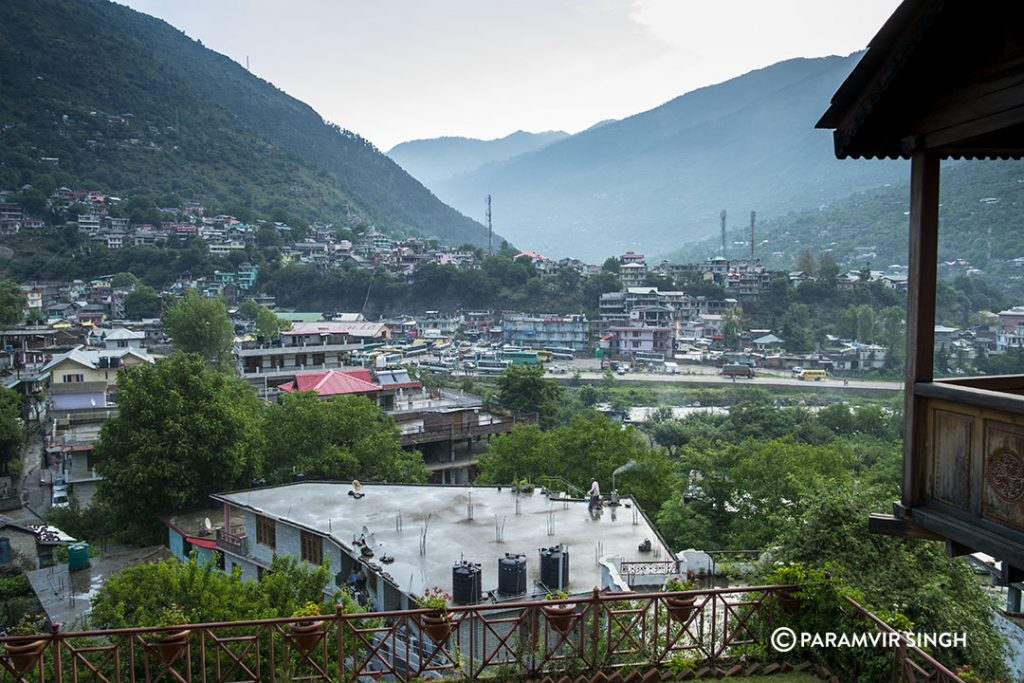 Manali Congested.