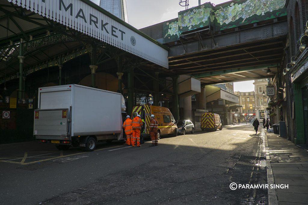 The London Bridge Borough Market.