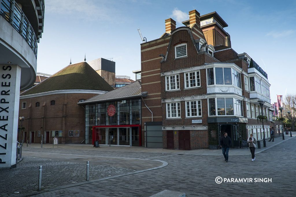Globe Theatre, London.
