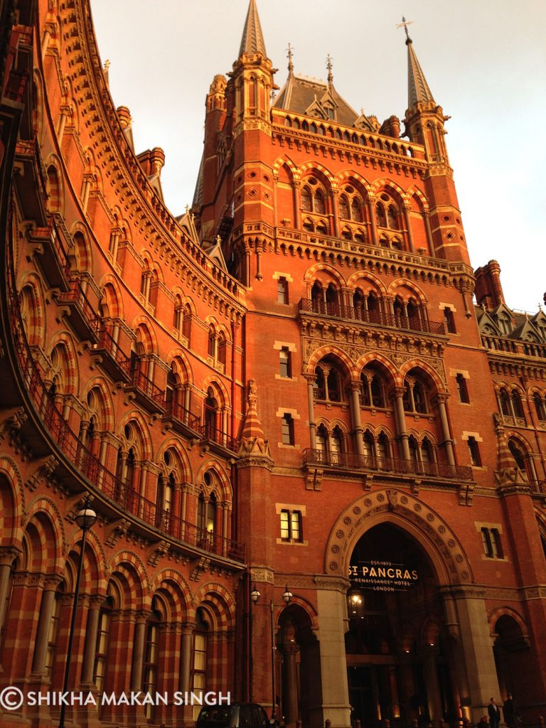 The St Pancras Hotel, London