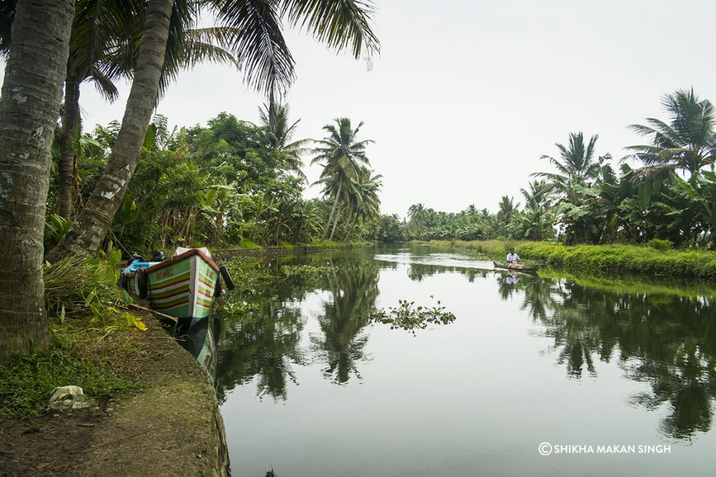 Alleppey also known as Alappuzha