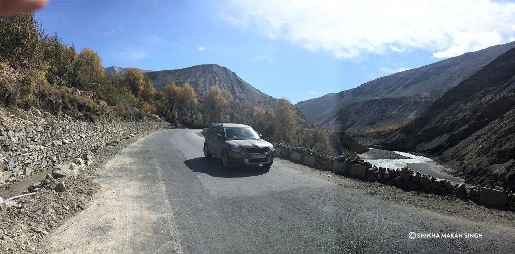 Skoda Yeti in Kaza, Himachal Pradesh