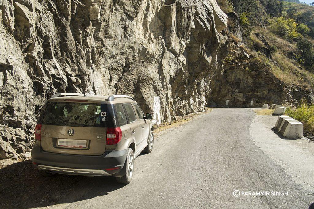 Sangla valley Road Skoda Yeti