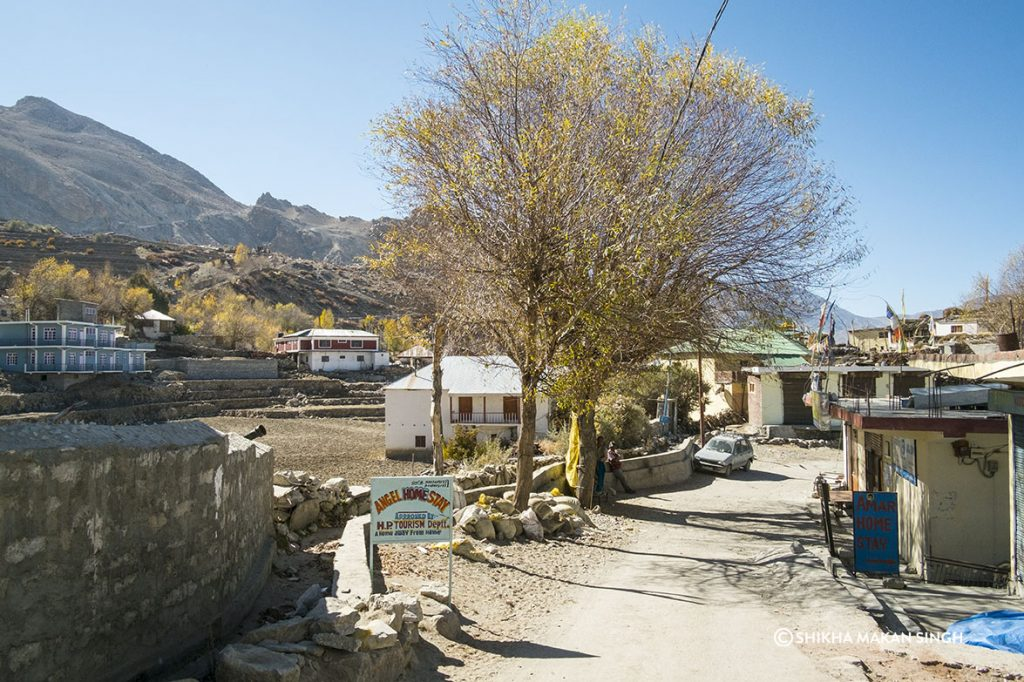 Spiti Valley Village