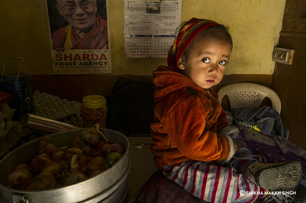 Child, Nako, Himachal Pradesh