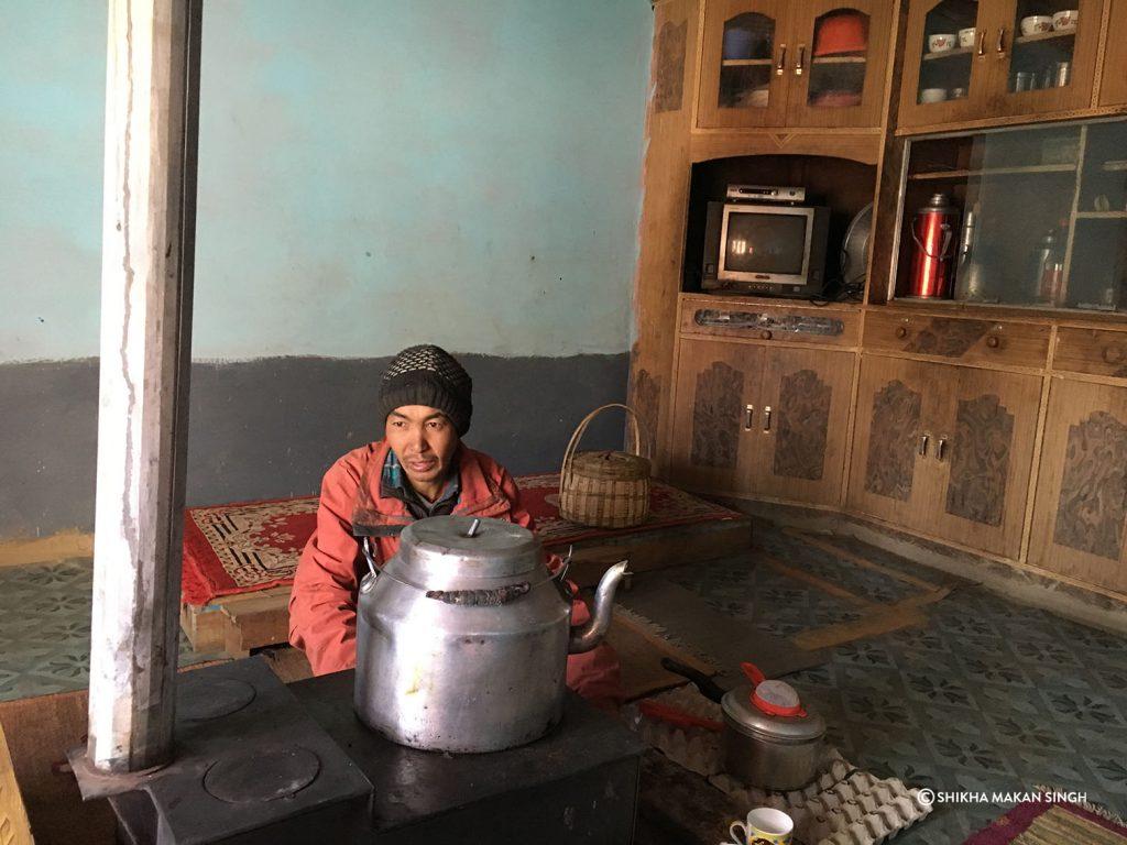Resident, Langza Village, Himachal Pradesh, India