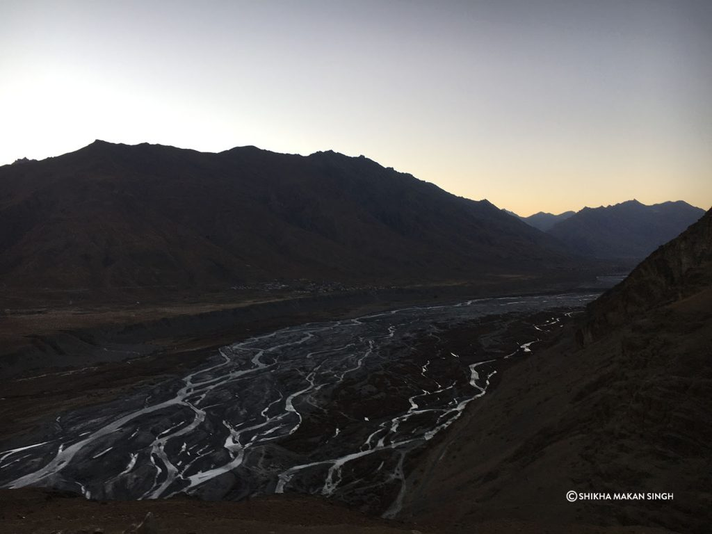 Spiti River, Spiti Valley, India