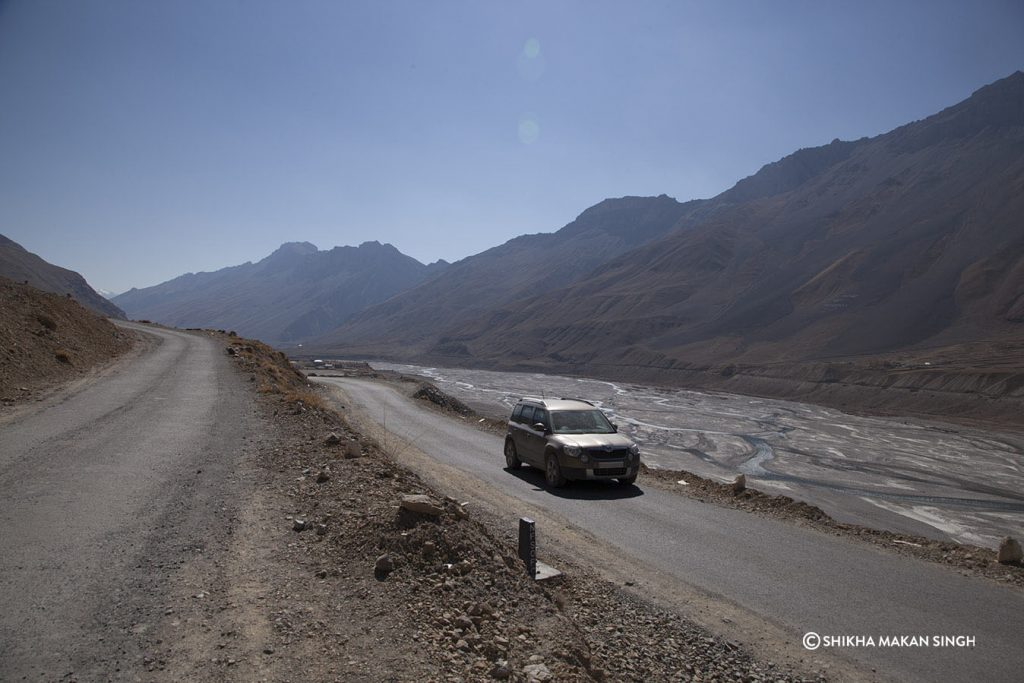 Road,, Spiti Valley, India