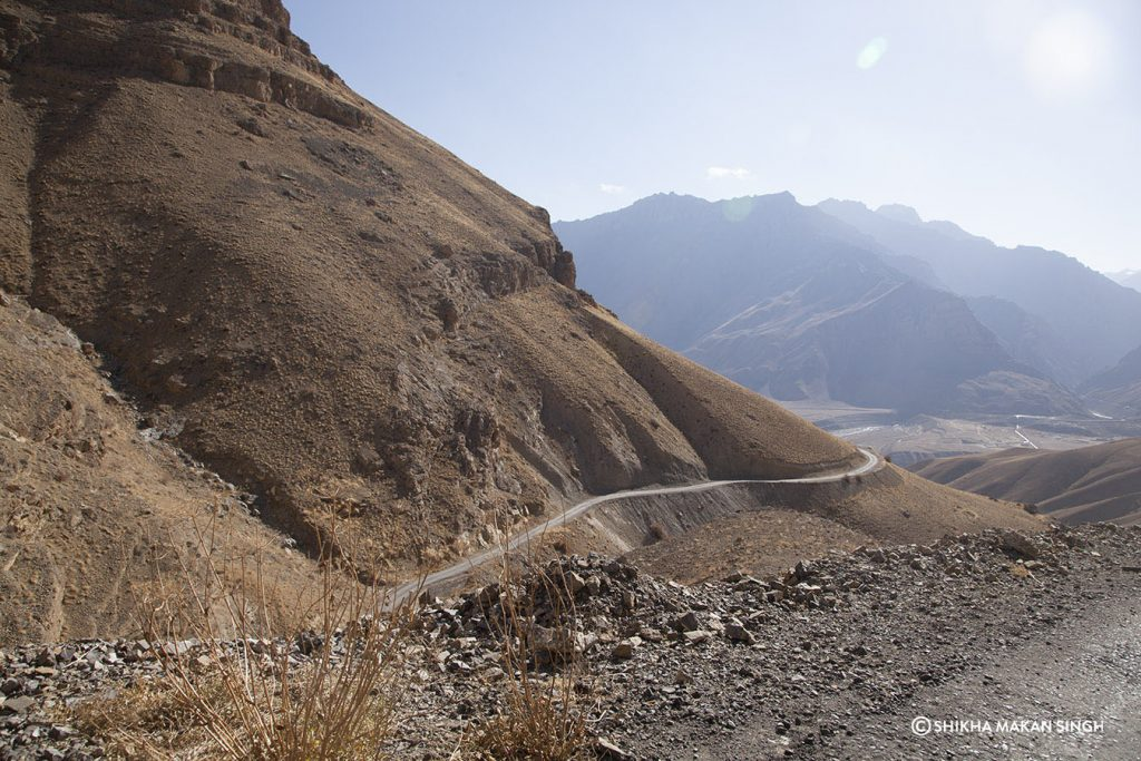 Road, Spiti Valley, Himachal Pradesh