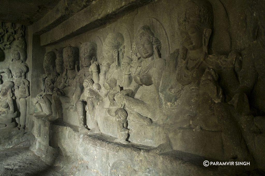 Inside Ellora Caves, India