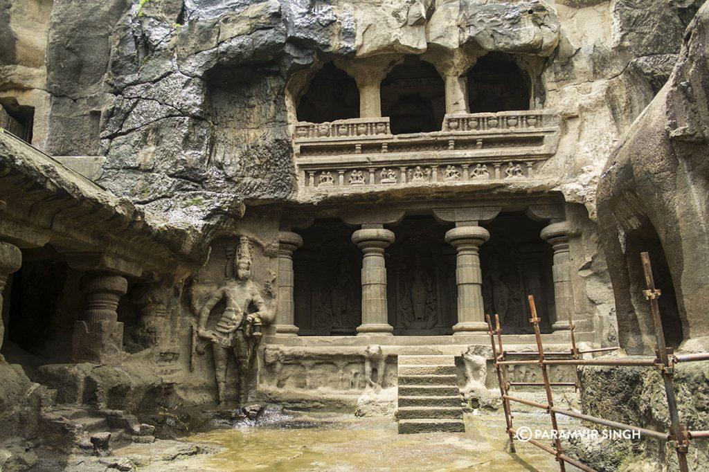 Details at Kailasa Temple, Ellora Caves, India