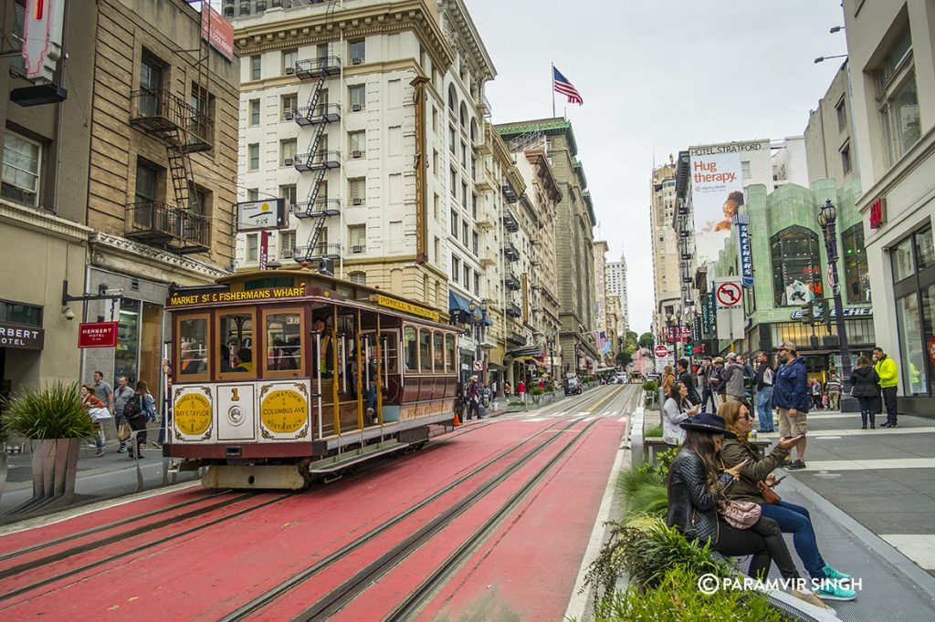 Powell Street, Cable Car, San Francisco