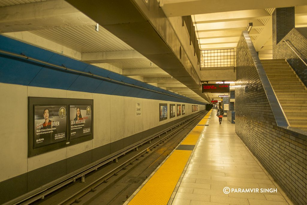 BART Station, San Francisco