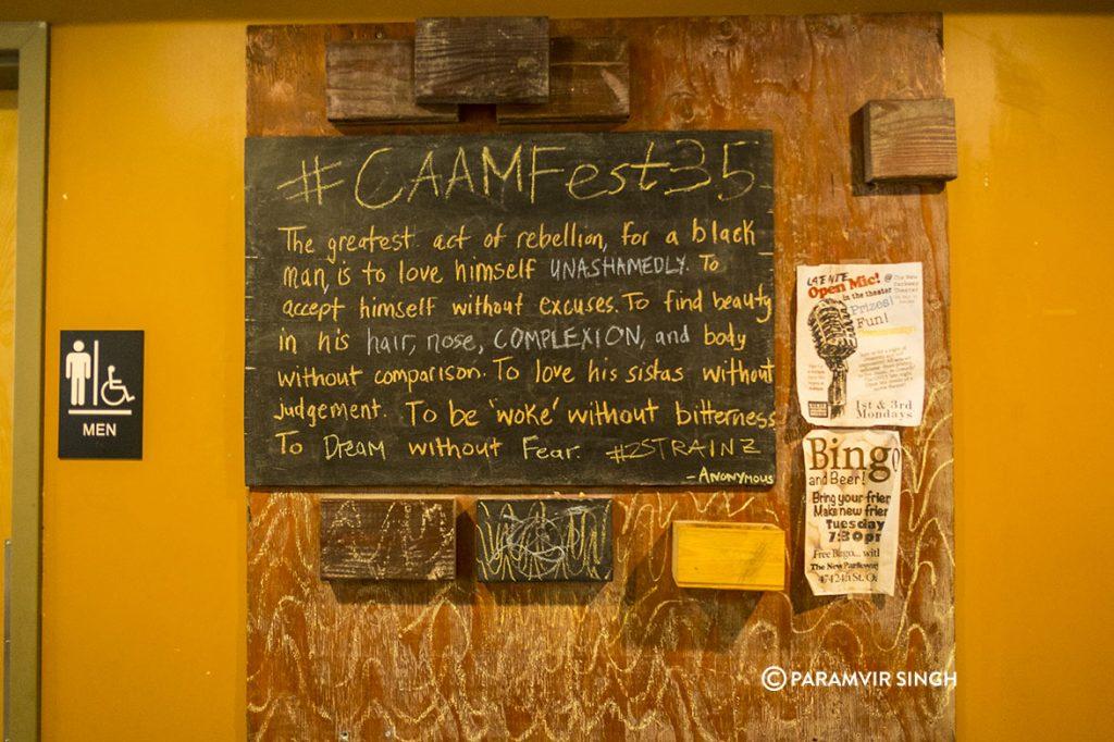 CAAM Fest 35, Oakland, USA