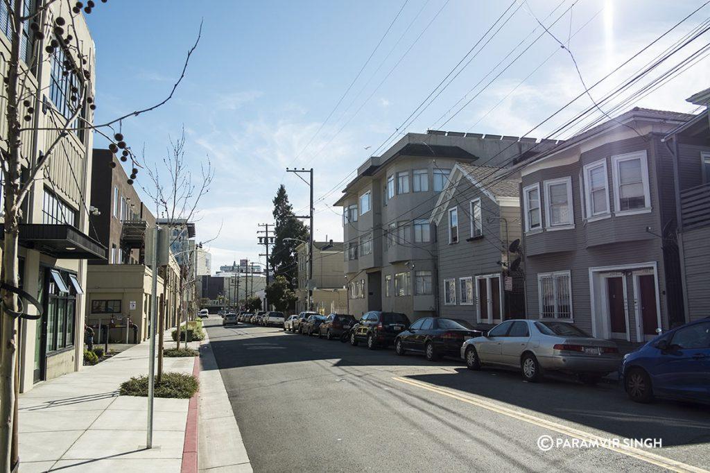 Oakland street.