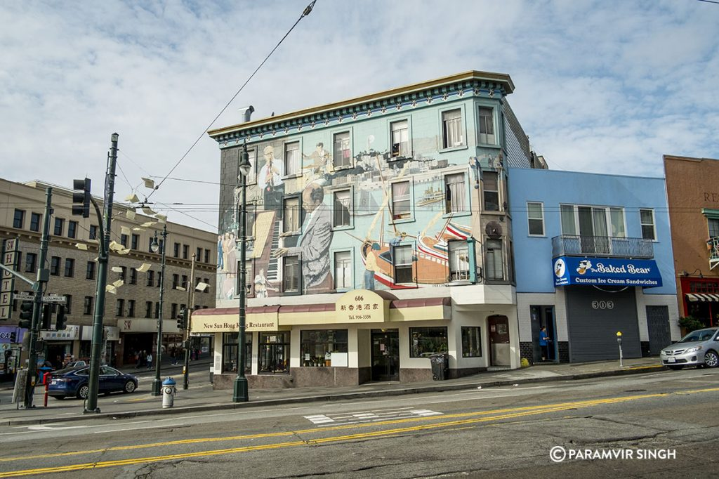 Building art in San Francisco