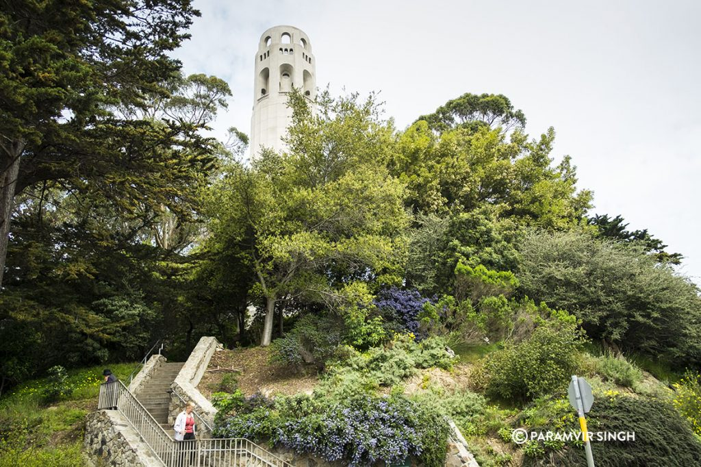 Coit Tower, San Francisco.