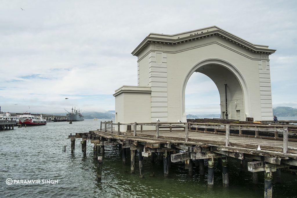 The Old Port Gate at Fisherman's Wharf, San Francisco