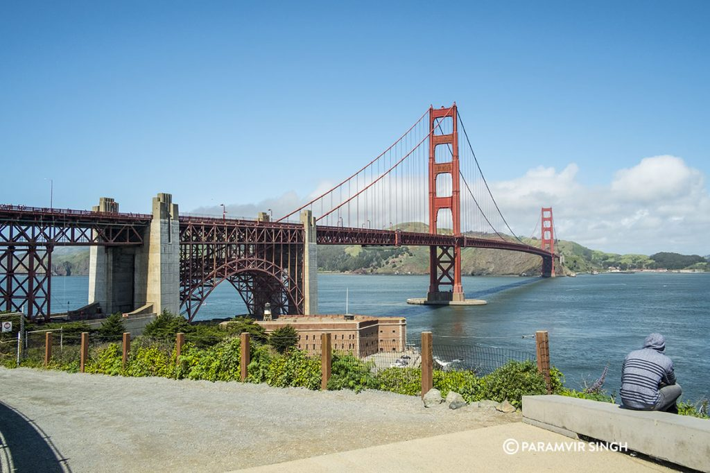 Golden Gate Bridge of San Francisco.